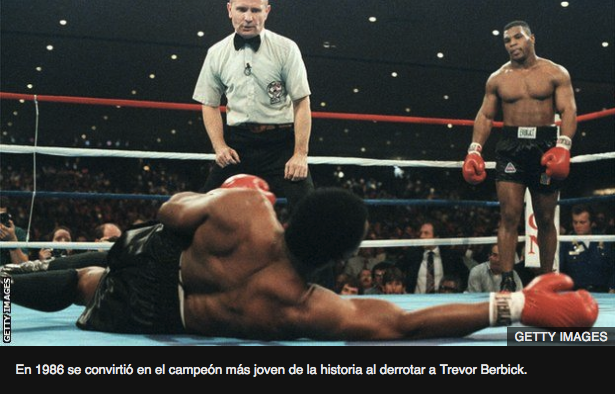 Mike Tyson vs Berbick